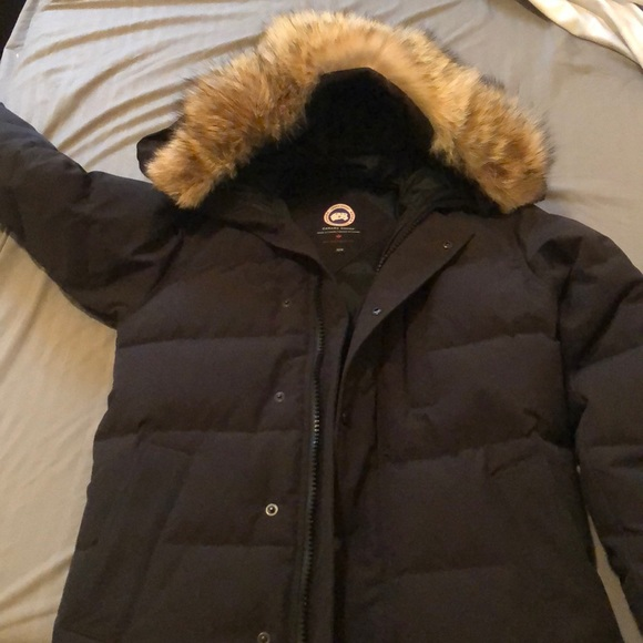 082949cf370 Canada Goose Jackets & Coats | Xs Black Less Than 7 Months Old ...